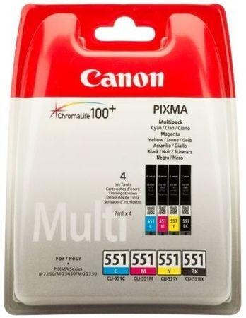 Canon komplet kartuš (CLI-551 C/M/Y/BK)