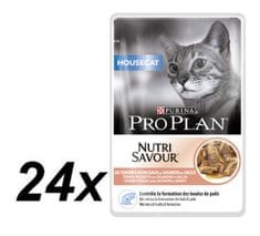 Purina Pro Plan CAT HOUSECAT Losos kapsička 24x85g