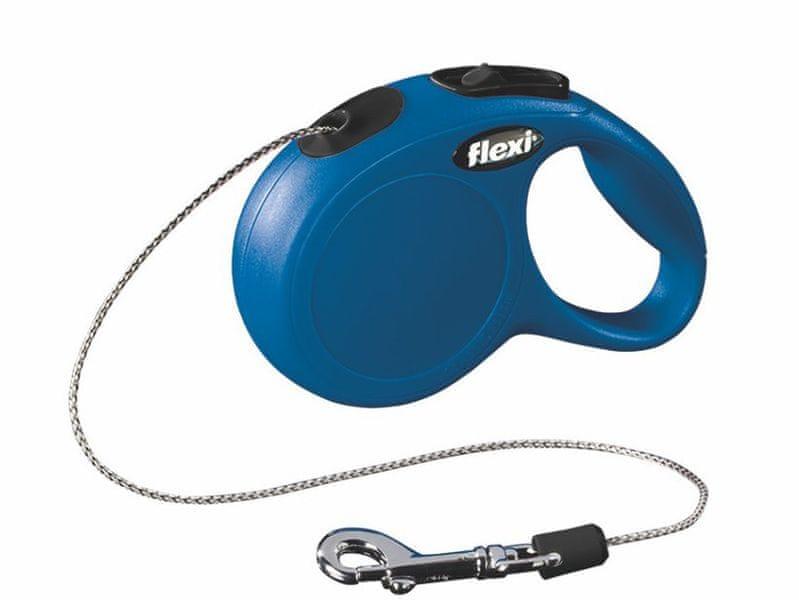 Flexi vodítko New Classic XS lanko 3m/8kg modré