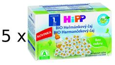 HiPP BIO Heřmánkový čaj (3+2 Zdarma)