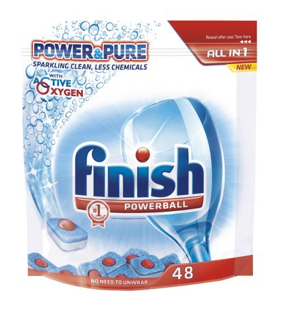 Finish Tabletki do zmywarek All-in 1 Power&Pure 48 szt