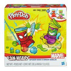 Play-Doh lonček za plastelin Spiderman in Goblin