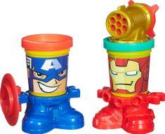 Play-Doh Superbohaterowie - Iron Man i Kapitan Ameryka B0594EU4