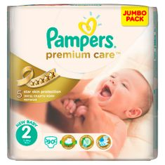 Pampers pieluchy PremiumCare 2 Mini - 90 szt.