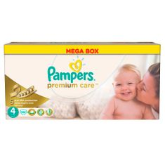Pampers plenice Premium Care Maxi 4, 7-14 kg, 104 kosi