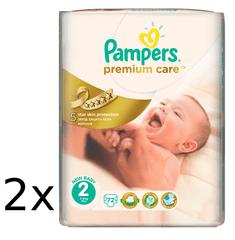 Pampers plienky PremiumCare 2 Mini - 144 ks
