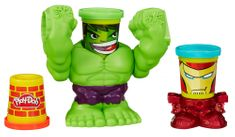 Play-Doh lonček - Hulk