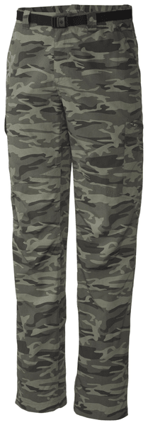 Columbia Silver Ridge Printed Cargo Pant Gravel Camo Print 34
