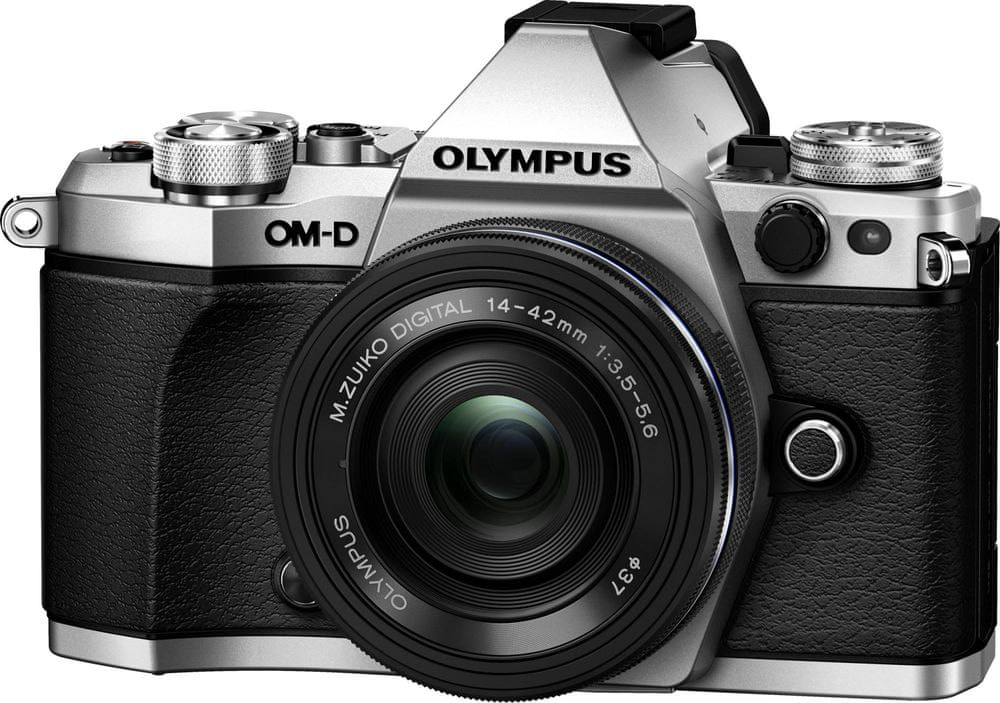 Olympus OM-D E-M5 Mark II Silver + 14-42 mm EZ
