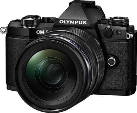 Olympus digitalni fotoaparat OM-D E-M5 Mark II + 12-40 mm, črn