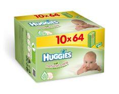 Huggies Chusteczki oczyszczające 10x64 sztuk