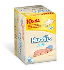 Huggies Chusteczki bezzapachowe 10 x 64 sztuk