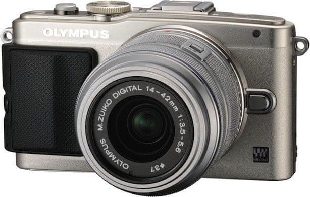 Olympus PEN E-PL6 + 14-42mm II R Silver