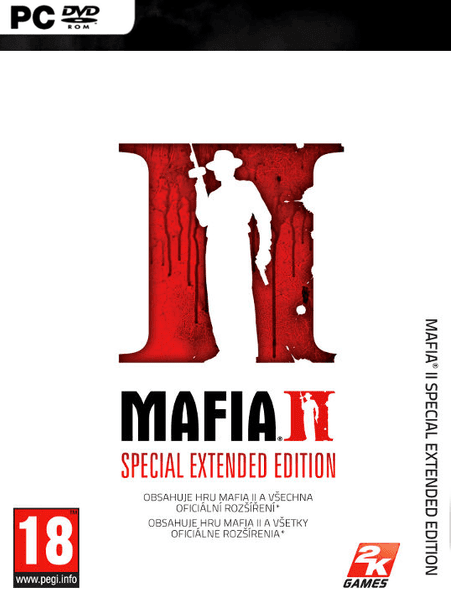 2K games Mafia II Special Extended Edition CZ