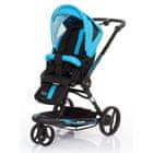 ABC Design Wózek 3 Tec 2w1 + okrycie na nogi niebieski