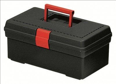 """Curver kovček za orodje S 12"""", črno/rdeč"""