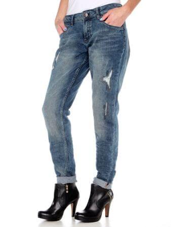 s.Oliver jeansy damskie 26/34 niebieski