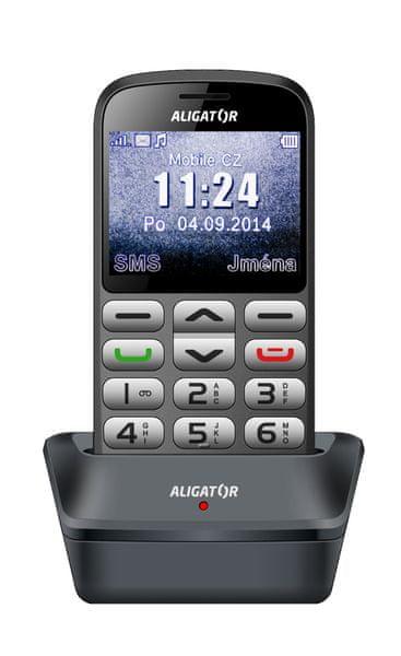 Aligator A870, šedá - II. jakost