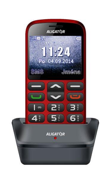 Aligator A870, červená - II. jakost
