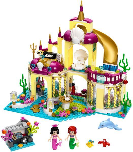 LEGO® Disney Princezny 41063 Podvodní palác Ariely
