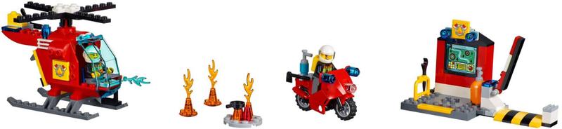 LEGO® Juniors 10685 Hasičský kufřík