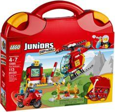 LEGO® Juniors 10685 Walizeczka - Straż pożarna