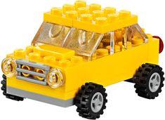 LEGO® CLASSIC Srednje velika kreativna kutija s kockicama