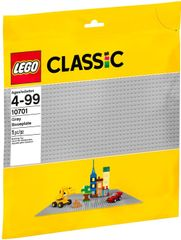 LEGO Classic 10701 Sivá podložka na stavanie