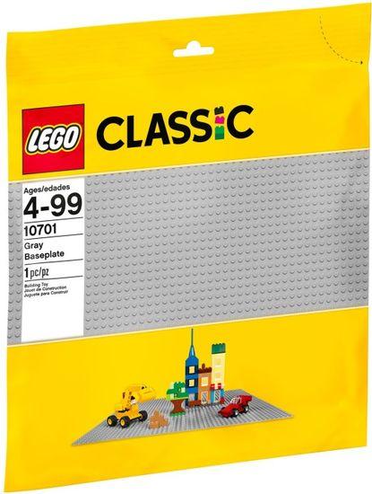 LEGO Classic 10701 Szara płyta konstrukcyjna