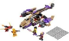LEGO® NINJAGO Condraijski napad s helikopterom