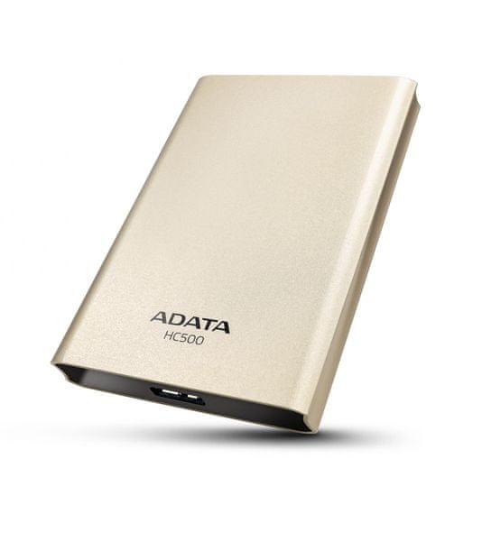 Adata HC500 - 1TB, USB 3.0 Gold (AHC500-1TU3-CGD)
