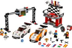 LEGO® Speed Champions: Startna linija Porsche