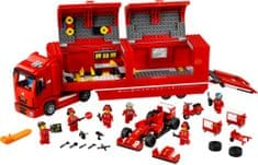 LEGO® Speed Champions 75913 Kamión pre voz F14 T tímu Scuderia Ferrari