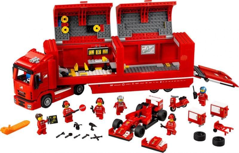 LEGO® Speed Champions 75913 Kamión pro vůz F14 T týmu Scuderia Ferrari