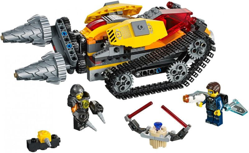 LEGO® Agents 70168 Drillex krade diamant