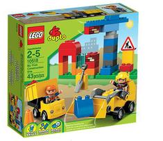 Lego Duplo moje prvo gradbišče