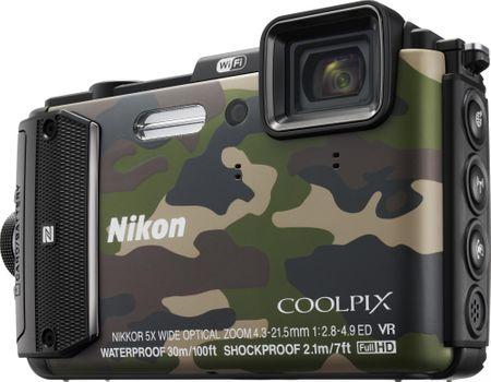 Nikon Coolpix AW130, kamuflaż