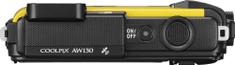 Nikon Coolpix AW130 žlutá - II. jakost