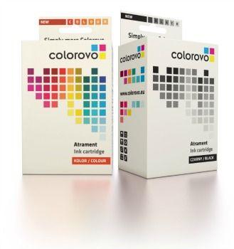 Colorovo 363-BK HP tintapatron, fekete
