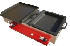 Gorenc plinski žar RF 80 x 40, Fe in LTŽ plošča