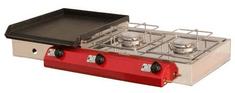 Gorenc plinski roštilj Camping 90K2, Fe ploča