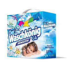 Waschkonig Proszek do białej bielizny Sensitive 2 kg - 22 prań
