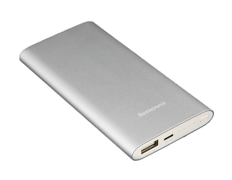 Lenovo Mobile Power MP506, 5000mAh, Stříbrná