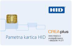 Paket pametna kartica HID z medprogramjem HID ActivClient