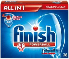 Finish Tabletki do zmywarek All-in-1 Regular 28 szt.