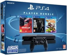 Sony Playstation 4 - 500GB + Driveclub + Little Big Planet 3 + The Last of Us