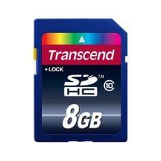 Transcend pomnilniška kartica SDHC 8GB C10