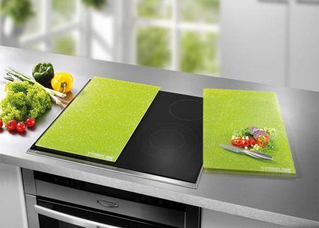 Stoneline kuhinjska deska za rezanje, 2 kosa, zele