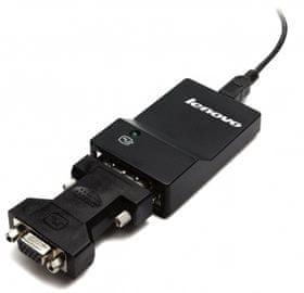 Lenovo adapter USB 3.0 na DVI/VGA Monitor (0B47072)