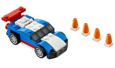 LEGO® Creator 31027 Plavi trkač